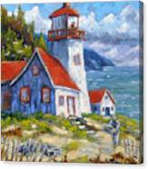 Traps And Lighthouse Canvas Print