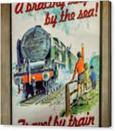 Travel By Train Canvas Print