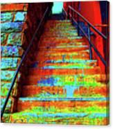 Travel-exorcist Steps Canvas Print