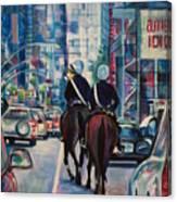 Travel Notebook. New York. Third Day Canvas Print