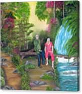 Travel Treasures Canvas Print