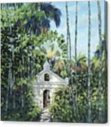 Travelers Path Canvas Print