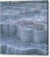 Mammoth Hot Springs Travertine Terraces Two Canvas Print