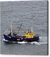 Trawling Off The Dingle Peninsula In Ireland Canvas Print