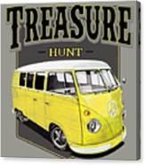 Treasure Hunt Bus Canvas Print