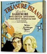 Treasure Island 1934 Canvas Print