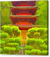 Treasure Tower Canvas Print