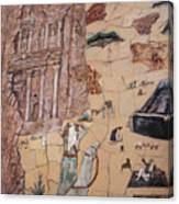 Treasury Mosaic Canvas Print