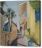 Treasury Street St Augustine Canvas Print