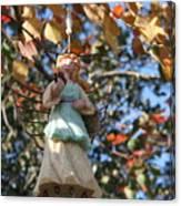 Tree Angel Canvas Print