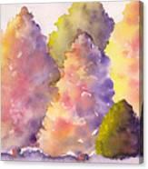 Tree Family Canvas Print