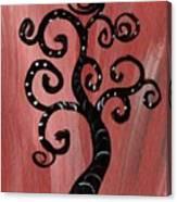 Tree I Wr Canvas Print