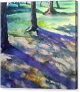 Tree Line Canvas Print