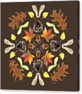 Tree Mandala 1 - Watercolor Canvas Print