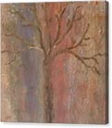 Tree - Metallic 1 Canvas Print