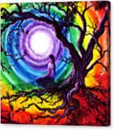 Tree of Life Meditation Canvas Print