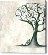 Tree Of Lknowledge Canvas Print
