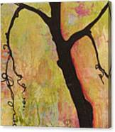 Tree Print Triptych Section 1 Canvas Print