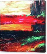 Tree Reflected Canvas Print