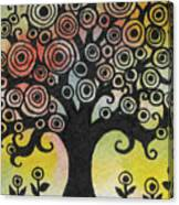 Tree Song Canvas Print