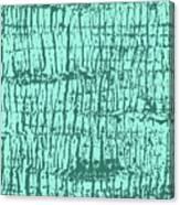 Tree Texture Turquoise Canvas Print