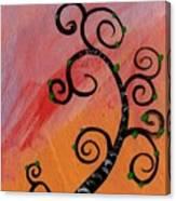 Tree V Wr Canvas Print