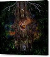Tree Wizard Canvas Print