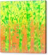 Trees In The Grass Canvas Print