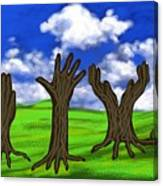 Trees #0078 Canvas Print