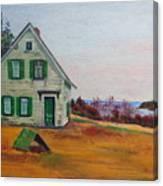 Trehaus Acadia Maine Canvas Print