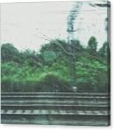 Trein Canvas Print
