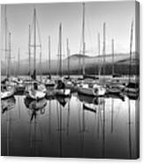 Tremblant Marina Canvas Print