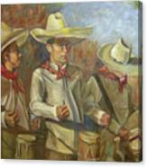 Tres Tambores Canvas Print