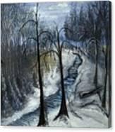Tresa's Nite Canvas Print
