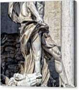 Trevi Fountain - Rome Canvas Print