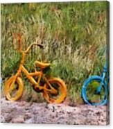 Tri Bike Canvas Print