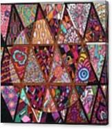 Triangularia Canvas Print