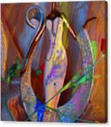 Tribal Evocative Canvas Print