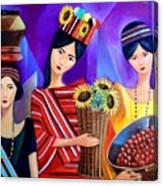 Tribal Women Canvas Print
