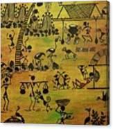 Tribals I Canvas Print