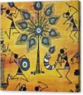 Tribals II Canvas Print