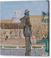 Tribute To Cezanne Canvas Print