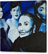 Tribute To Lena Horne Canvas Print