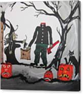 Trick Or Treat. Canvas Print