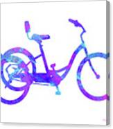 Tricycle Art Canvas Print