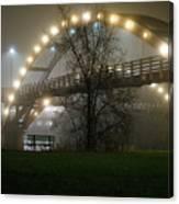 Tridge Fog Canvas Print
