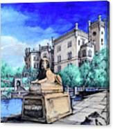 Trieste  Castello Di Miramare Canvas Print
