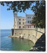 Trieste- Miramare Castle Canvas Print