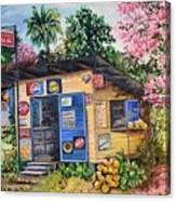 Trinidad Country Parlour Canvas Print