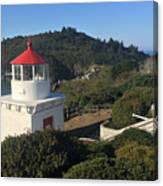 Trinidad Head Memorial Lighthouse, California Lighthouse Canvas Print